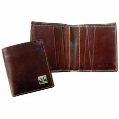 Leather Jeans Wallet - Rutting Stags