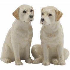 Golden Labrador Salt & Pepper Pots