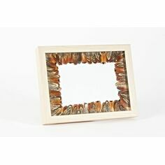 Cock Pheasant Feather Wooden Photo Frame