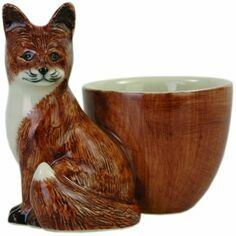 Quail Ceramics Fox Design Egg Cup