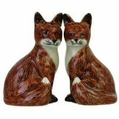 Fox Salt & Pepper Pots