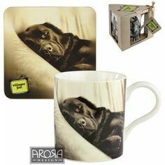 Dilly Creases Labrador Mug & Coaster