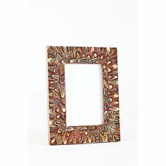 Pheasant Feather Photo Frame