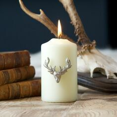 Culinary Concepts Stag Candle Jewellery - Set Of 3