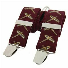 Burgundy Flying Pheasant Classic 35mm Braces