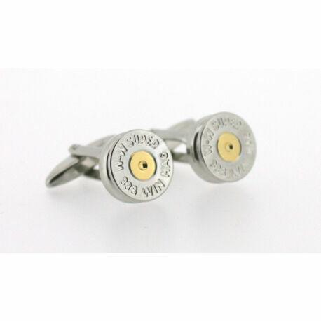 Soprano Shotgun Cartridge Cufflinks