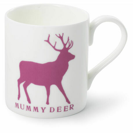 Mummy Deer Bone China Mug
