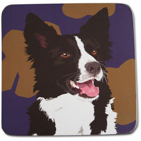 Collie Dog Coaster