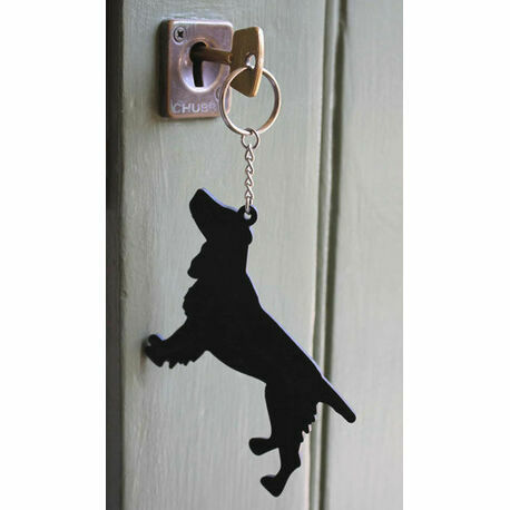 The Labrador Company Spaniel Keyring