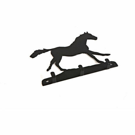 3 Hook Key Rack - Horse Galloping