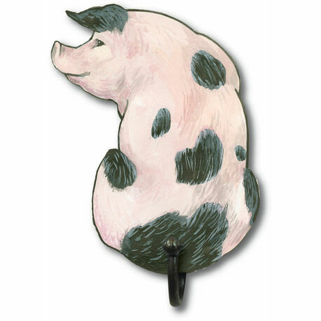 Gloucester Old Spot Pig Coat Hook