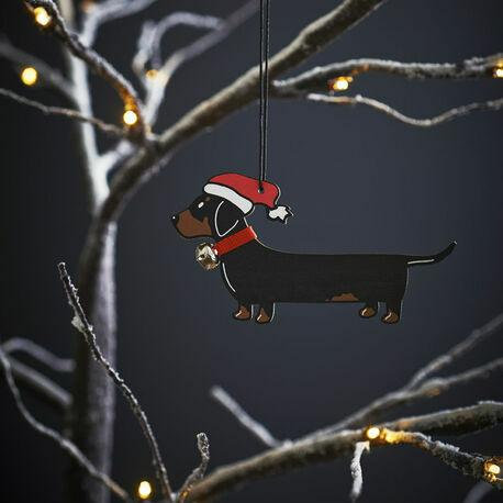 Sweet William Dachshund Christmas Decoration