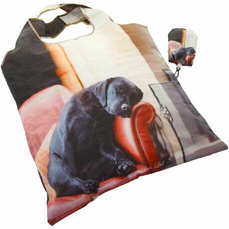 Country Matters Sleeping Labrador Fold Away Bag
