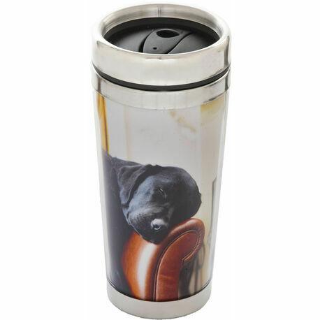Country Matters Sleeping Labrador Thermal Mug
