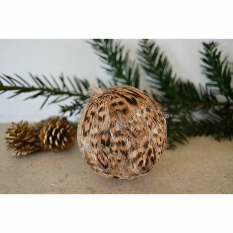 premium selection ff5a0 2f5c6 Hen Pheasant Feather Bauble