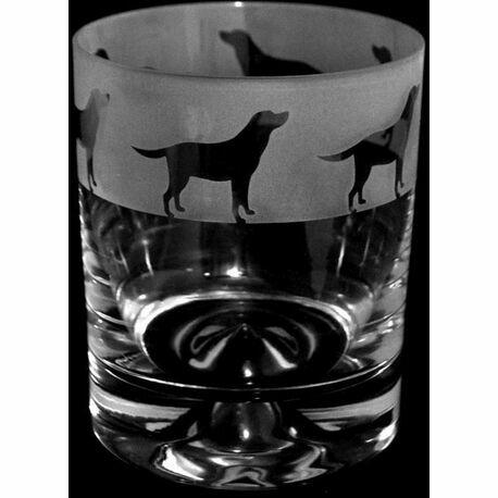 Animo Glass Labrador Whisky Tumbler