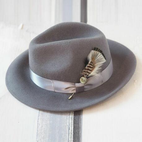 Mu Du Feather Hat Pins