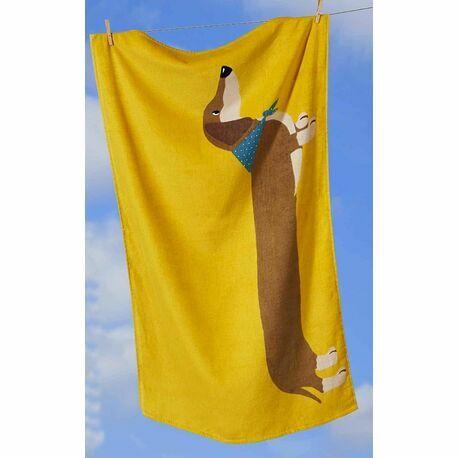 Dachshund Sausage Dog Towel