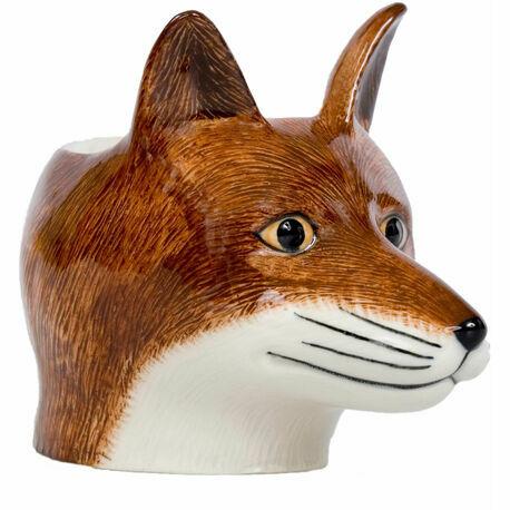 Quail Ceramics Fox Face China Egg Cup