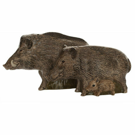 Wild Boar Salt & Pepper Pots