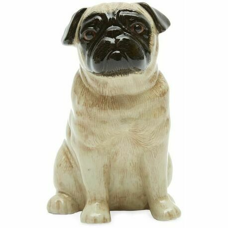 Quail Ceramics Fawn Pug Money Box