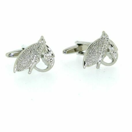 Soprano Pair of Fly Fishing Design Country Cufflinks