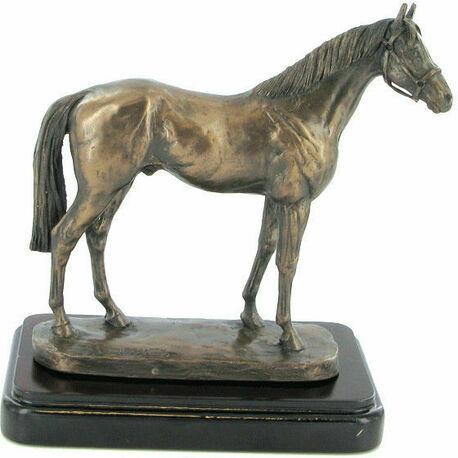 David Geenty Epsom Dandy Cold Cast Bronze Sculpture