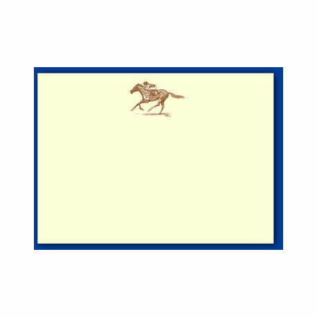 Bryn Parry Sepia Notecards - Race Horse