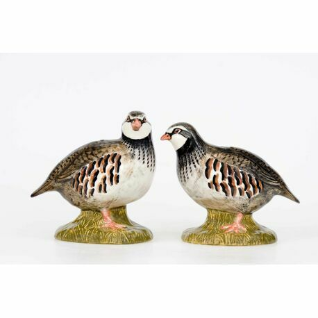 Quail Ceramics Partridge Salt & Pepper Shaker Pots