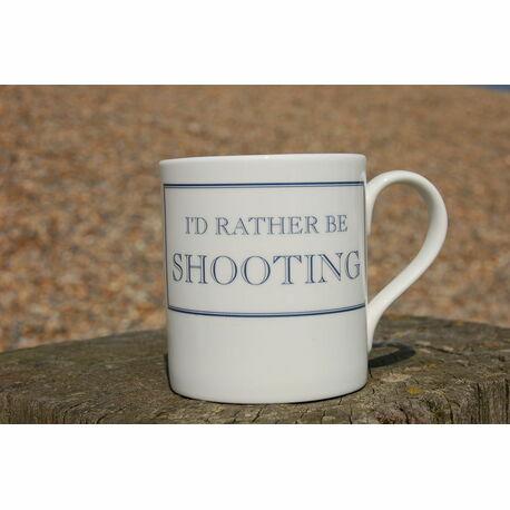 I'd Rather Be Shooting Mug
