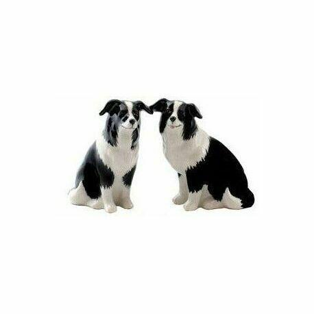 Border Collie Design Salt & Pepper Pots