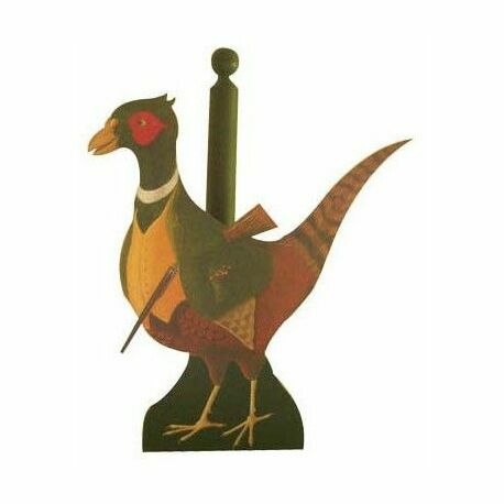 Pheasant Kitchen Roll Holder